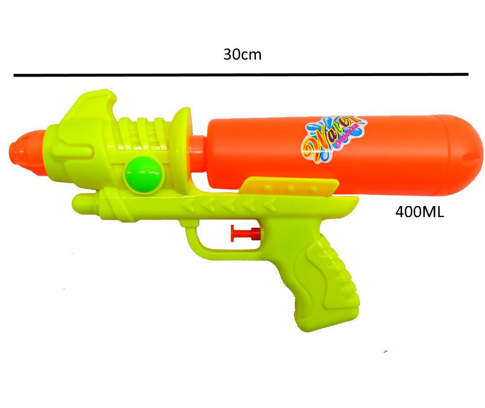 Arminha Lançador de Agua Super Jato Flix 400ML - Amarelo com Laranja