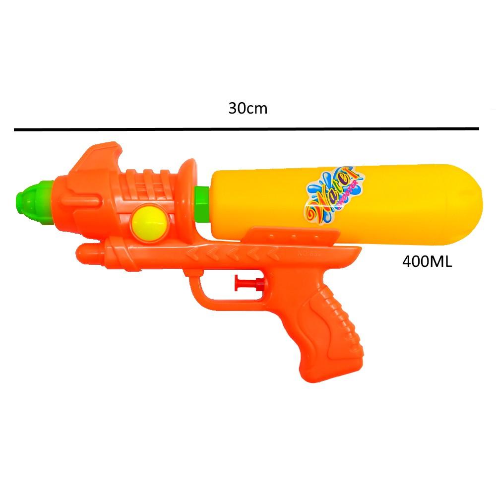 Arminha Lançador de Agua Super Jato Flix 400ML - Laranja com Amarelo