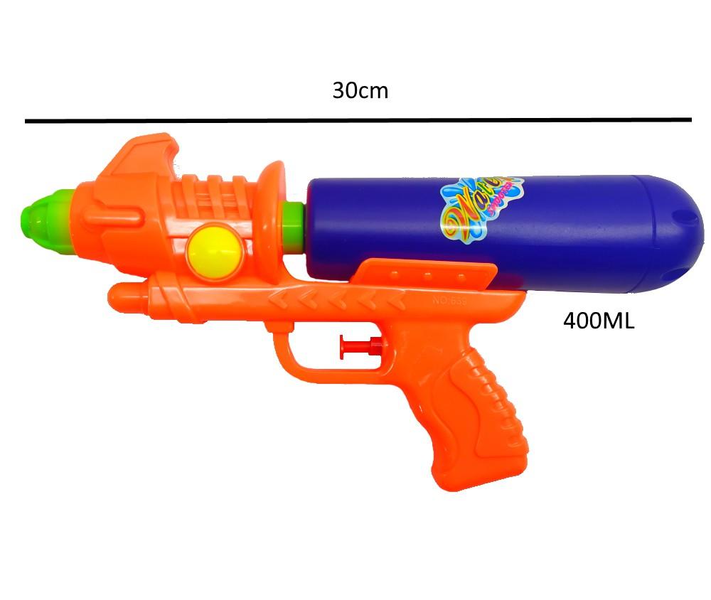 Arminha Lançador de Agua Super Jato Flix 400ML - Laranja com Azul