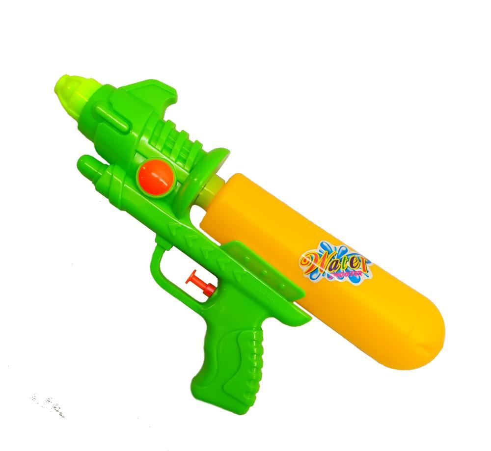 Arminha Lançador de Agua Super Jato Flix 400ML - Verde com Amarelo