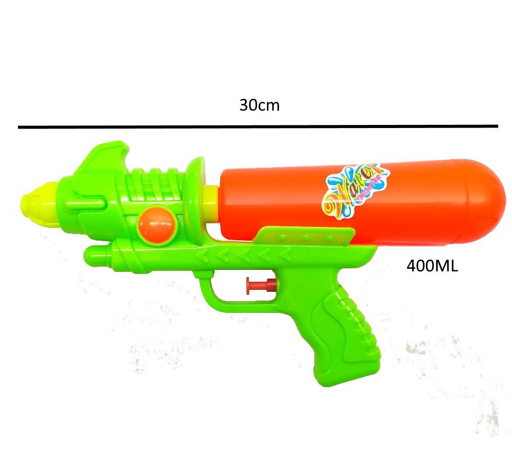Arminha Lançador de Agua Super Jato Flix 400ML - Verde com Laranja