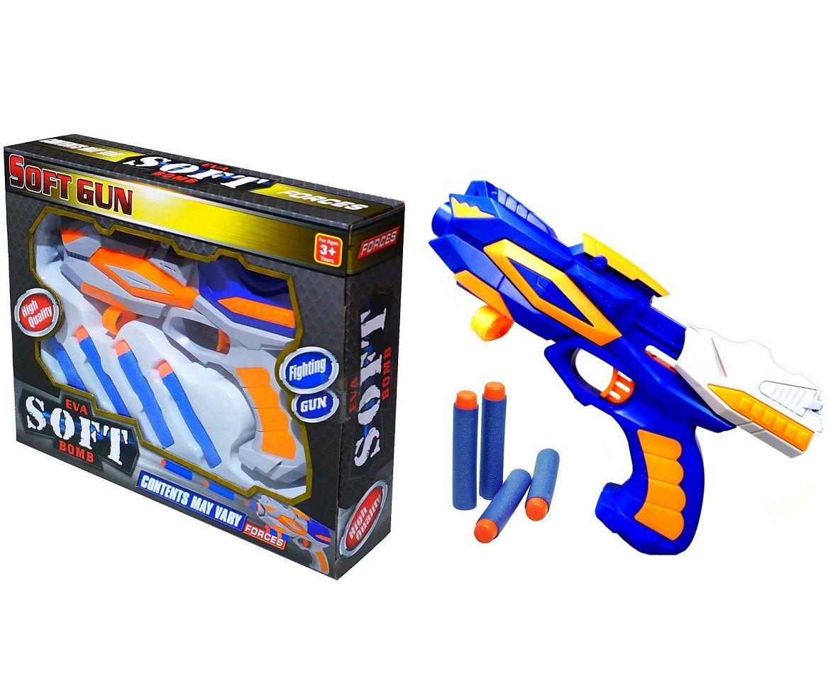 Arminha Nerf Pistola Tiro ao Alvo com Munições de Espuma