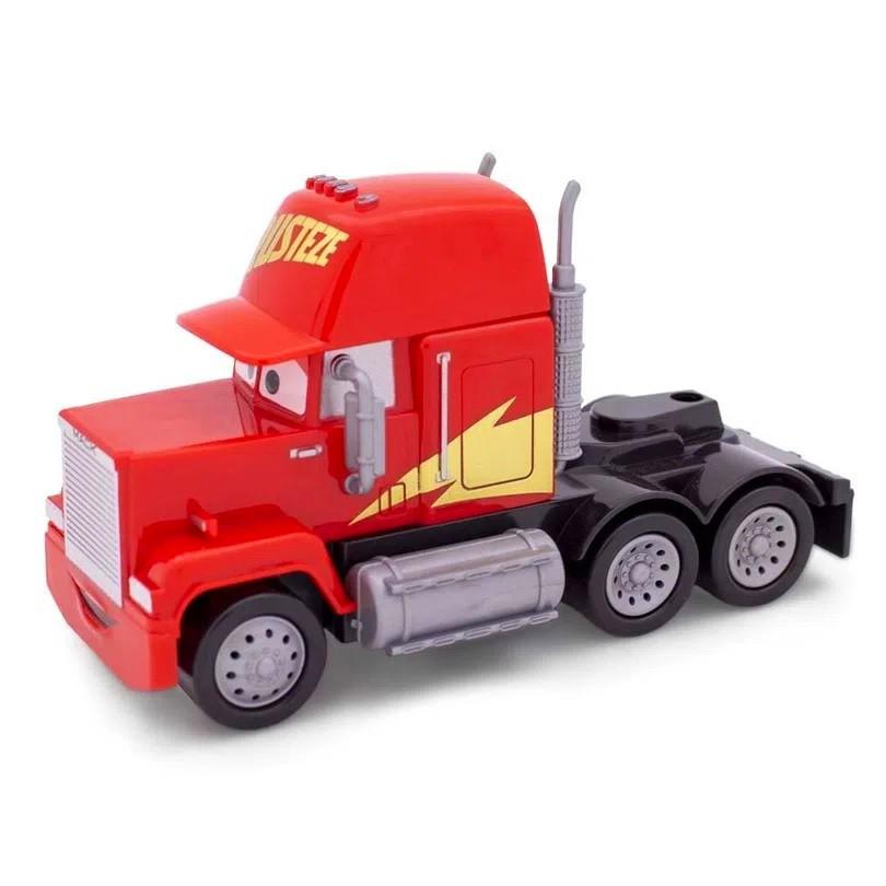 Balde de Pipoca do Relâmpago Macqueen com Carros Jackson Storm e Caminhão Mack