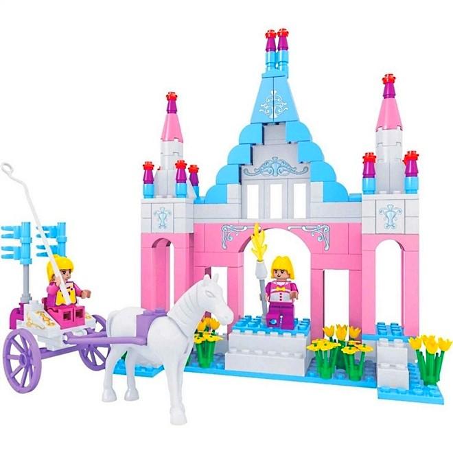 Blocos de Montar para Meninas Castelo da Princesa com Carruagem 245pçs