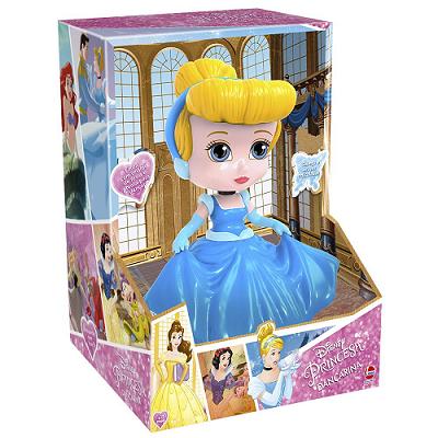 Boneca Dançarina Disney Princesa Cinderela Dança e Anda