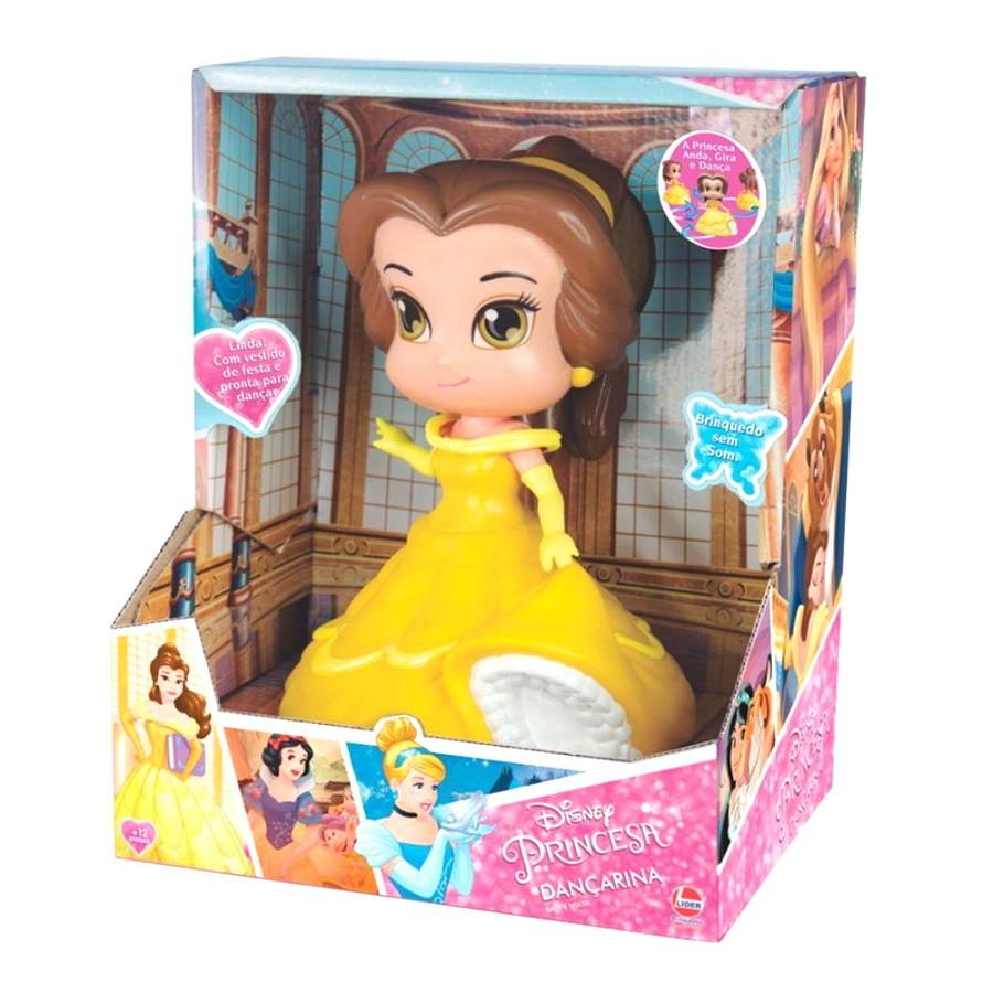 Boneca Dançarina Princesa Bella da Disney a Bela e a Fera Vinil