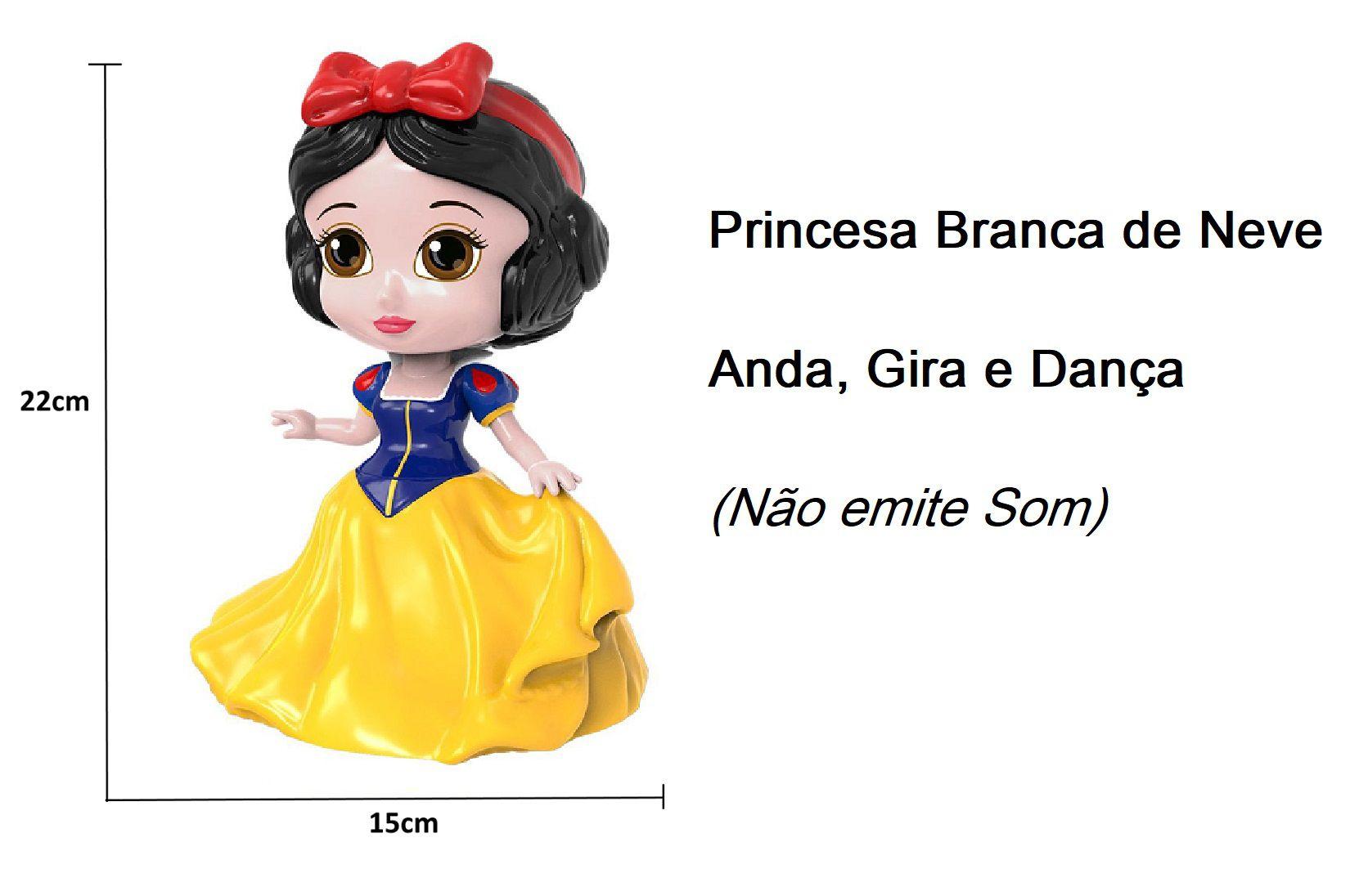 Boneca Dançarina Princesa Branca de Neve Disney