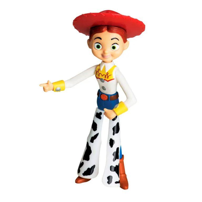 Boneco de Toy Story Jessie Boneca de 18cm Disney Acabamento Premium em Vinil
