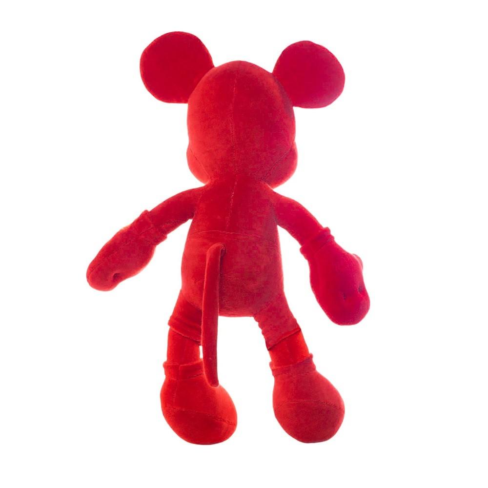 Boneco do Mickey Plush Vermelho Artesanal Grande 45cm