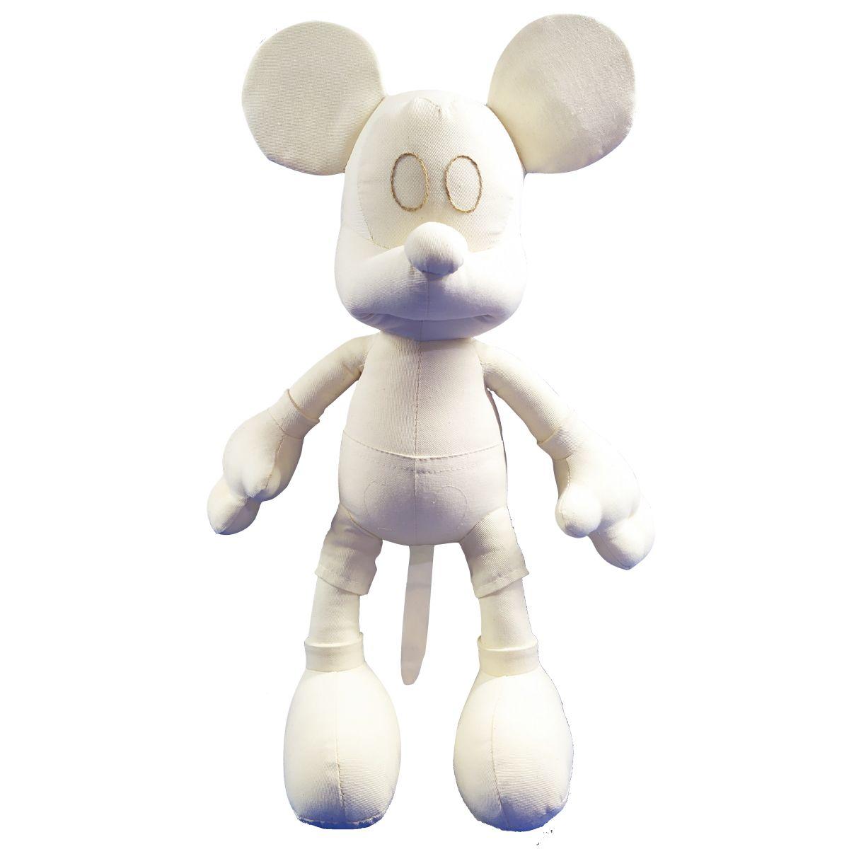 Boneco Mickey Mouse para Colorir de 48cm Nacional Licenciado Disney