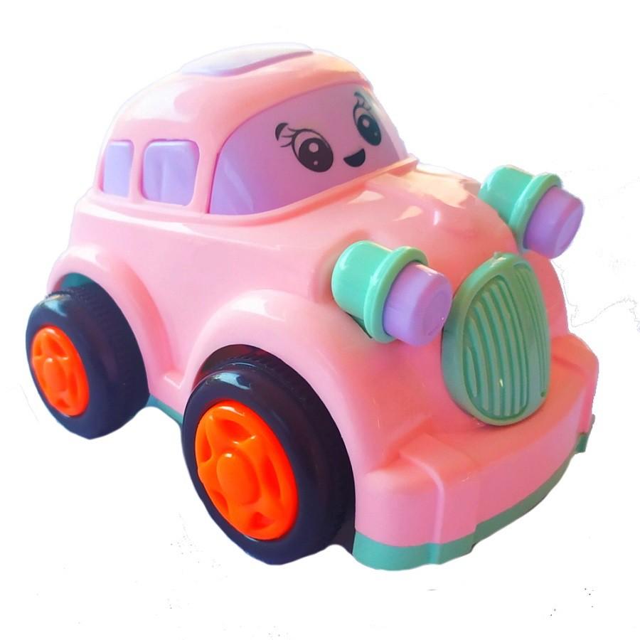 Brinquedo Carrinho de Fricção Baby Divertido Rosa
