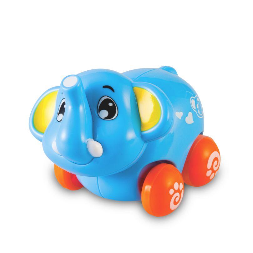 Brinquedo Carrinho Infantil Bebê Estimulante Turminha Animal Elefante