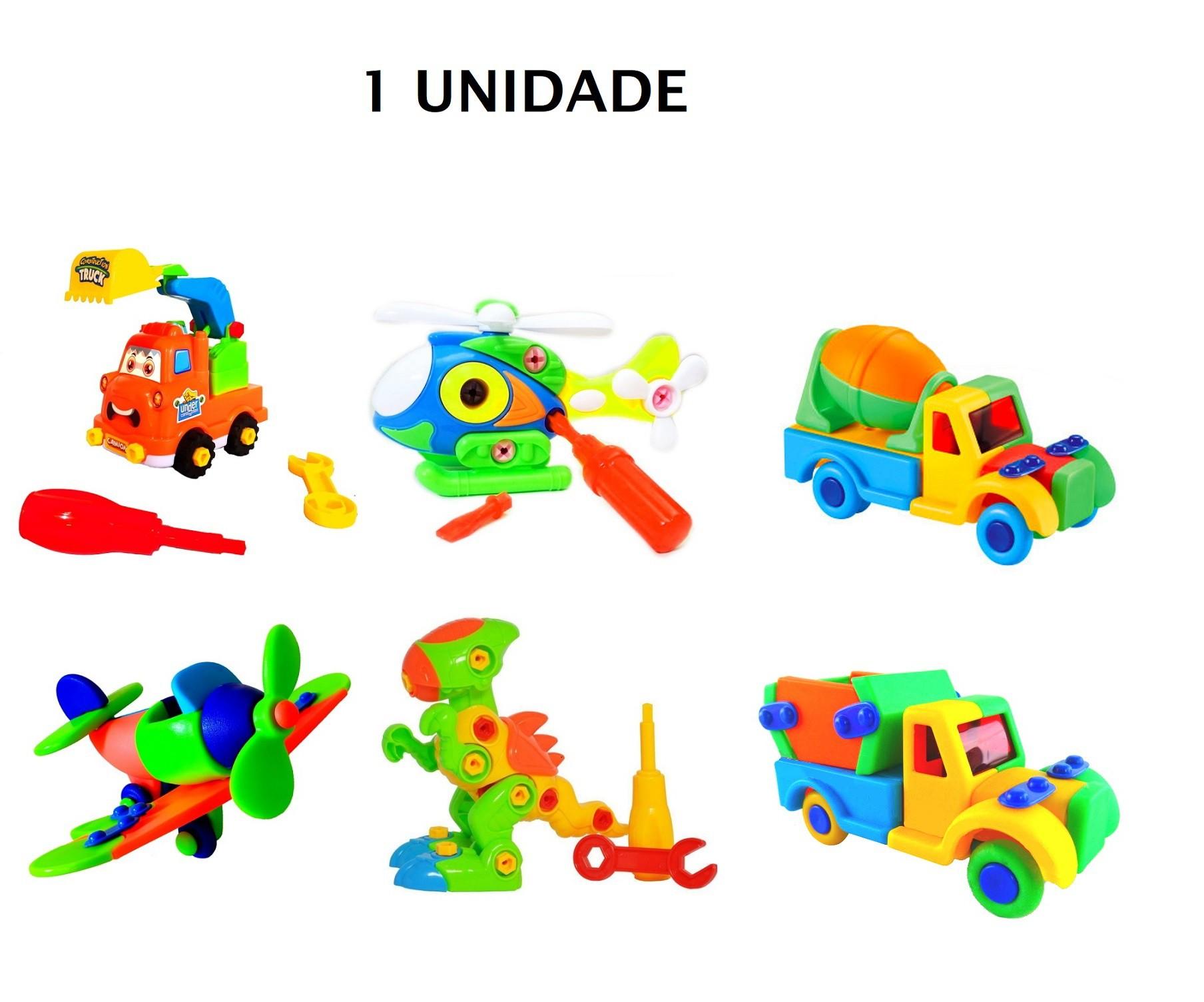 Brinquedo Educativo Monta e Desmonta com Chave - 1 unidade