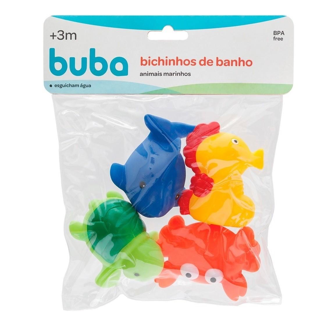Brinquedo para Banho Bichinhos do Mar da Buba