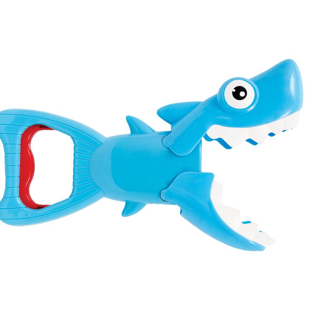 Brinquedo para banho Tubarão Mecânico Pega Peixinhos