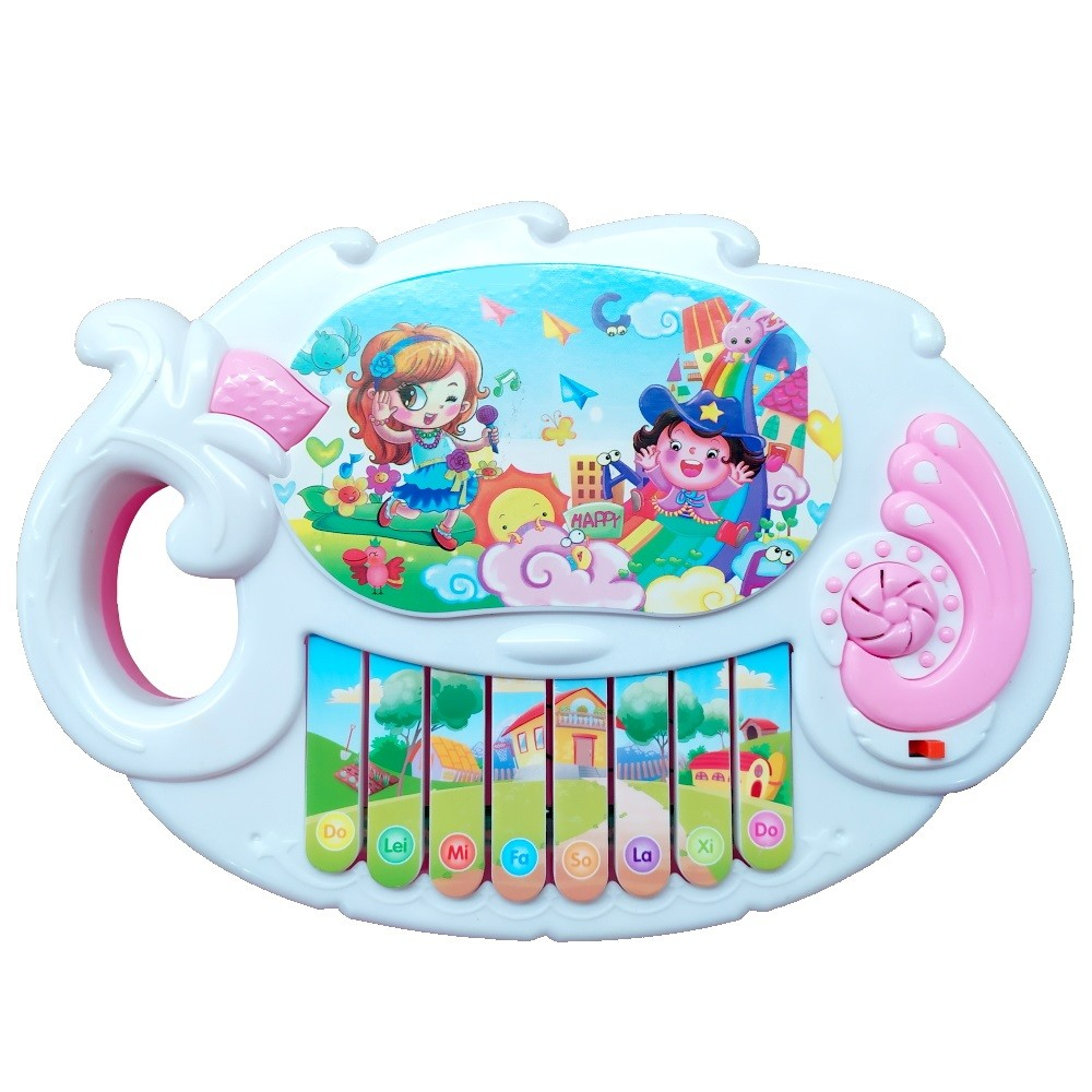 Brinquedo Teclado Musical Rosa - MS0667