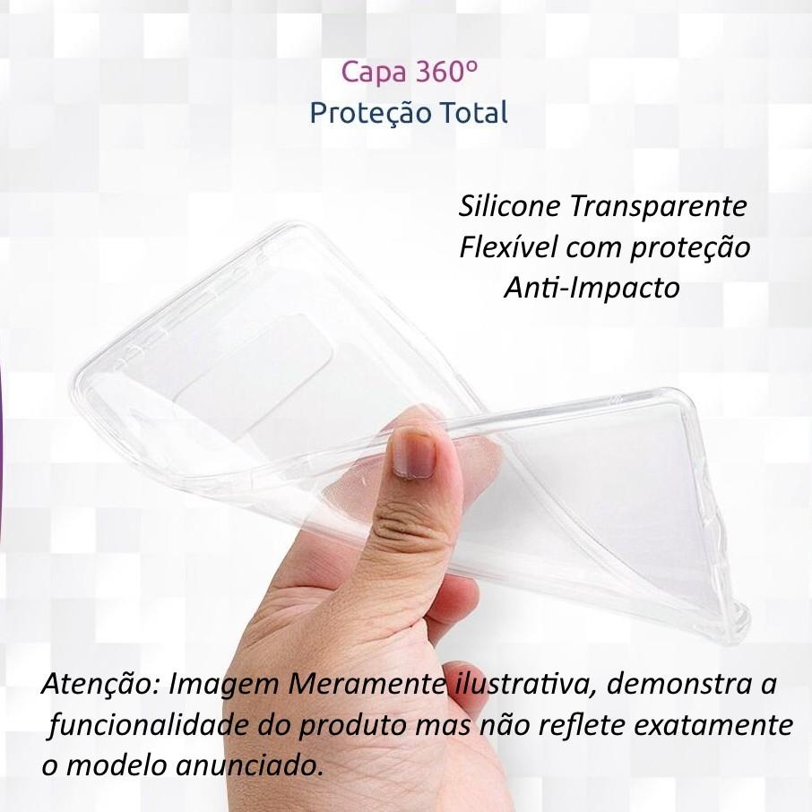 Capa 360 para Galaxy S8 Plus Tela 6.2 Pol. Silicone Anti Impacto