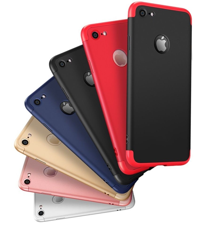 Capa 360 para iPhone 7 8 Original Gkk Ultra Fina