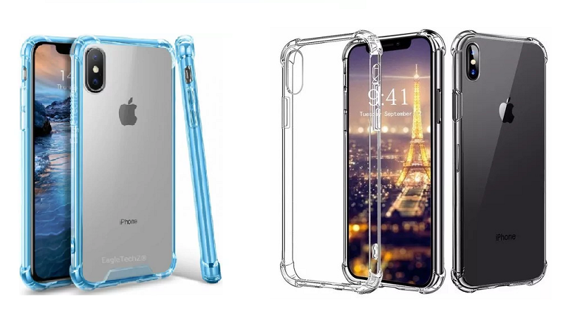 Capa Borda Anti Impacto para IPhone X