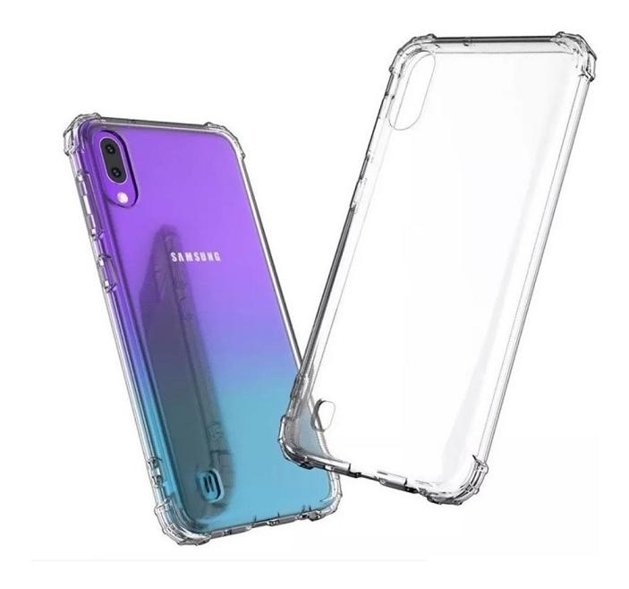 Capa Borda Anti impacto para Samsung Galaxy M10 Transparente