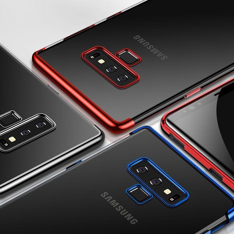 Capa Borda Colorida Samsung Galaxy Note 9
