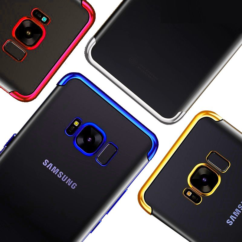 Capa Galaxy S8 Plus Silicone Borda Colorida