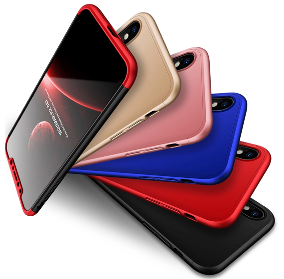 Capa 360 GKK para iPhone X Ultra Fina