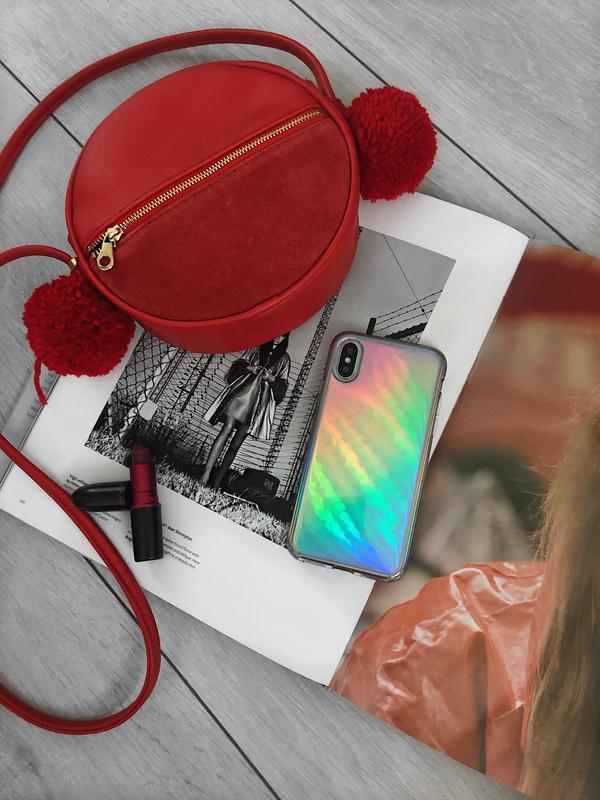 Capa Holográfica Anti Impacto para iPhone 7 Plus 5.5 Polegadas