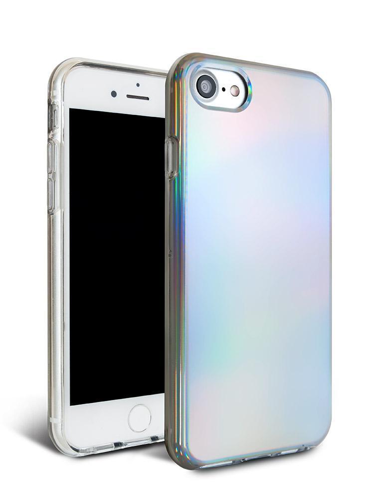Capa Holográfica Anti Impacto para iPhone 7 tela 4.7 Polegadas