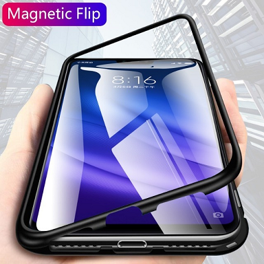 Capa Magnética 360 Luxo Para Xiaomi Mi 8 Lite