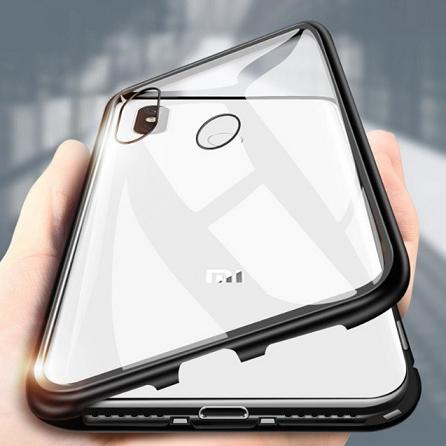 Capa Magnética 360 Luxo Para Xiaomi Redmi Note 6