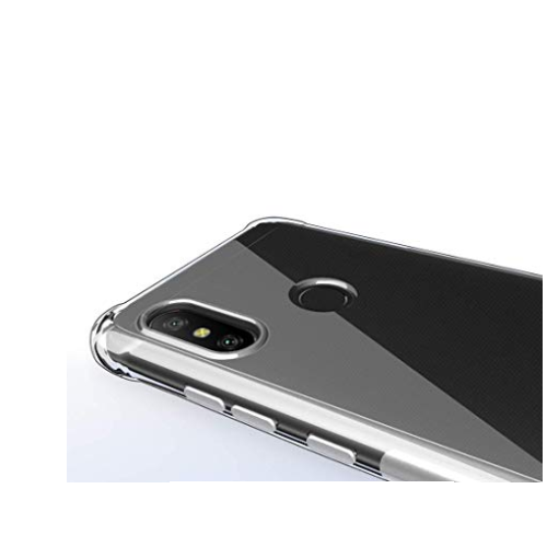 Capa Silicone Borda Anti Impacto P/ Xiaomi Redmi Mi 8 Lite