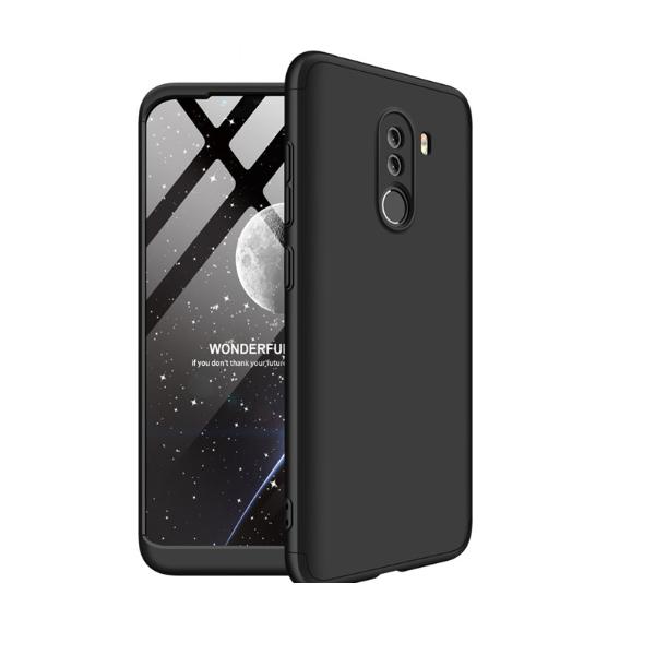 Capa Ultra Fina 360 para Xiaomi Pocophone F1 Gkk - Preta