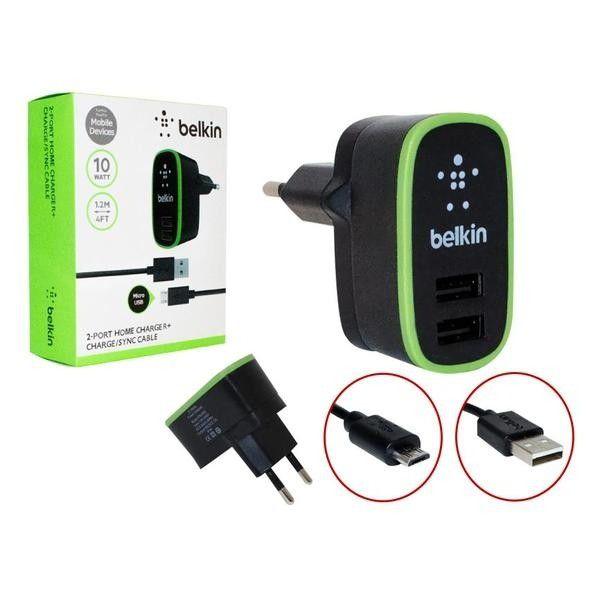 Carregador Rápido de parede USB 2.1A para iPhone