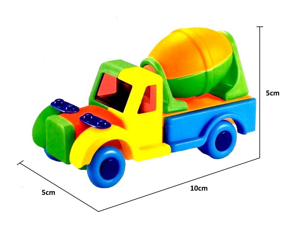 Carrinho de Montar Caminhão Basculante Educativo Colorido