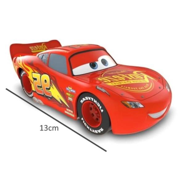 Carrinho Disney Pixar Carros 3 Colecionável Roda Livre 13cm - Relâmpago Macqueen