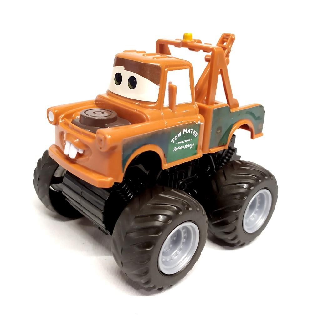 Carrinho Fricção Mate Monster 10cm Disney Carros