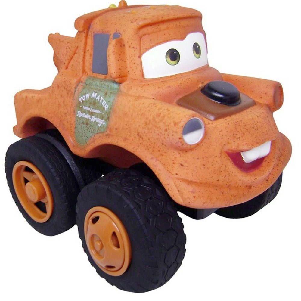 Carrinho Mate Baby Disney Carros 3 Grande Disney Pixar Emborrachado Fofomóvel