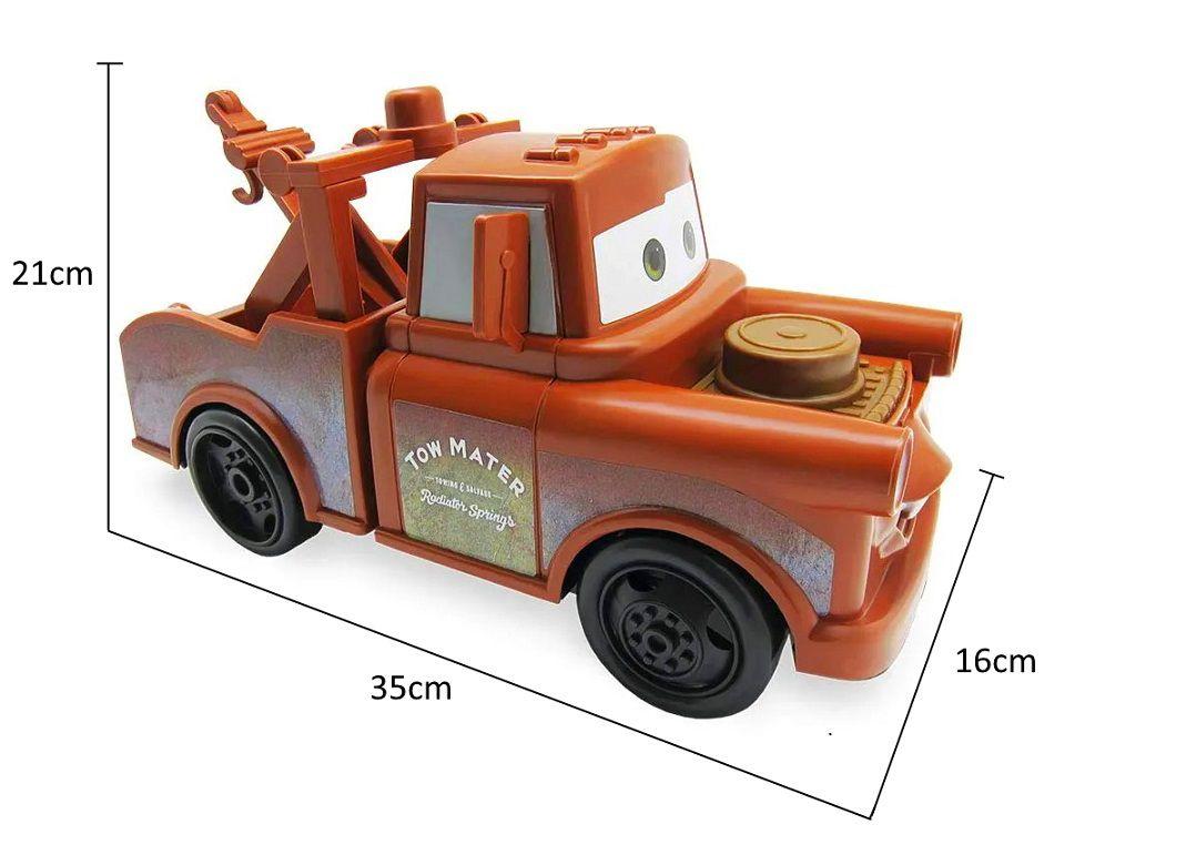 Carrinho Mate Caminhão Guincho Carros 3 Grande Disney Pixar