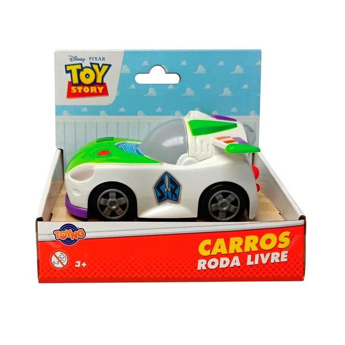 Carrinho Toy Story Roda Livre Disney Pixar 13cm Buzz Lightyear