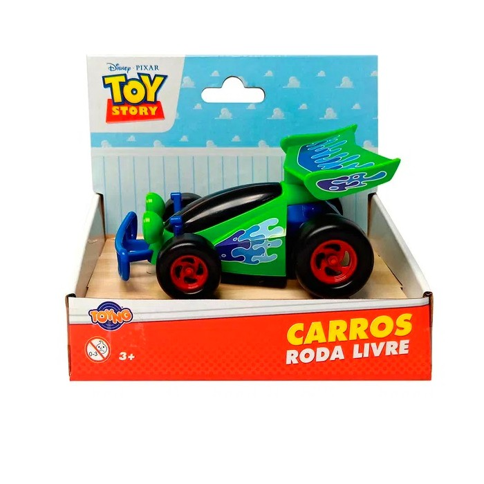 Carrinho Toy Story Roda Livre Disney Pixar 13cm CR