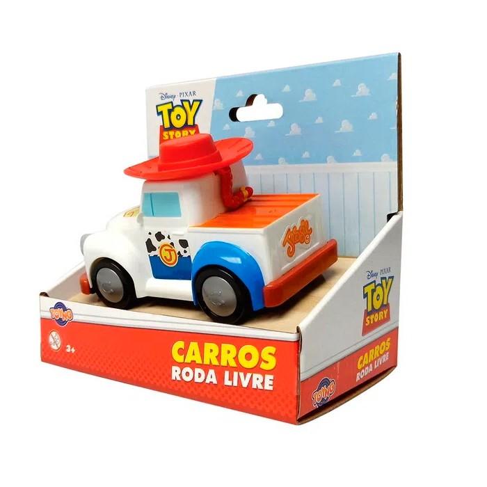 Carrinho Toy Story Roda Livre Disney Pixar 13cm Jessie