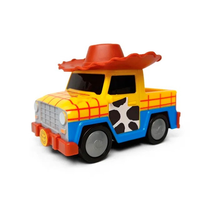 Carrinho Toy Story Roda Livre Disney Pixar 13cm Sheriff Woody