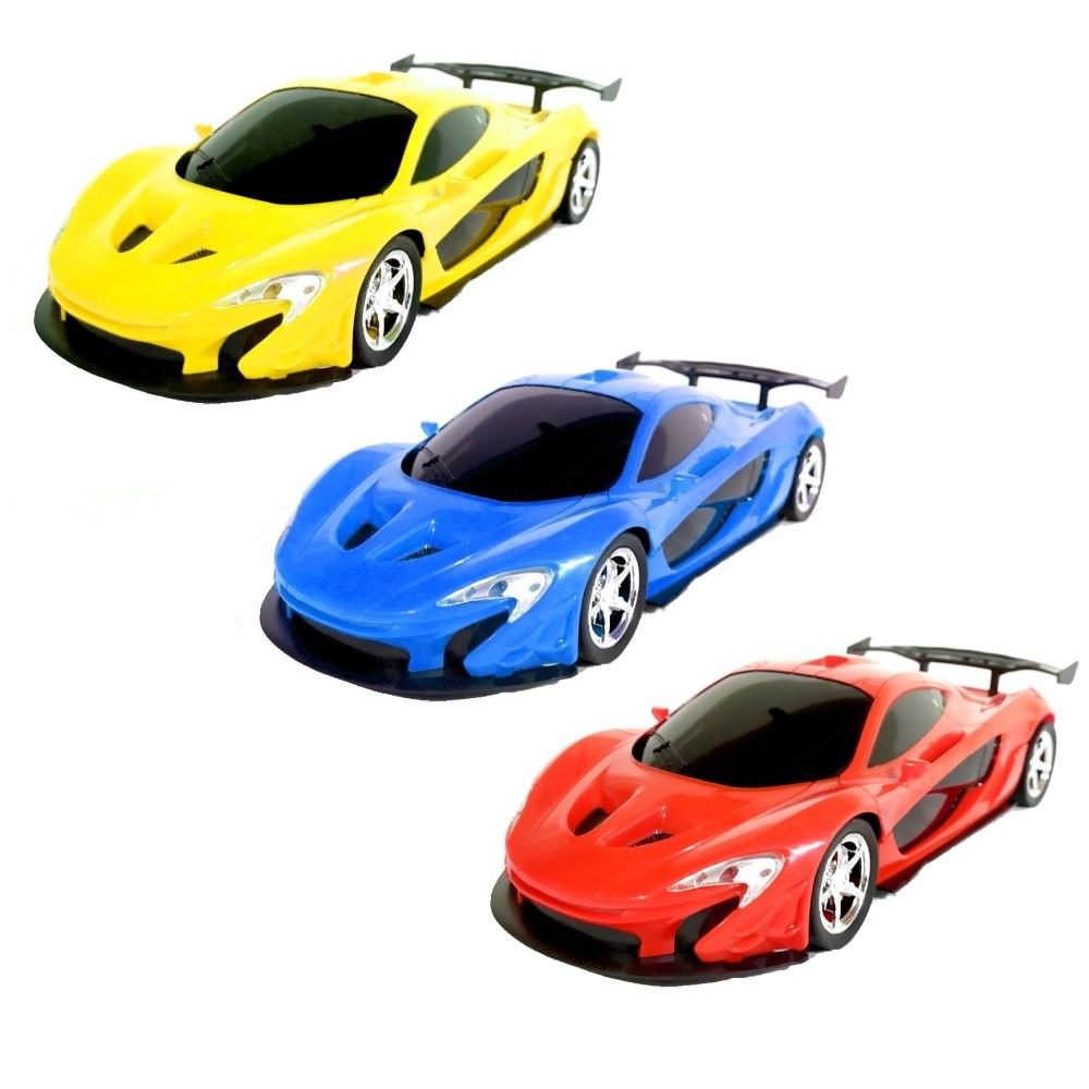 Carro de Controle Remoto Ferrari com Farol Escala 1:16