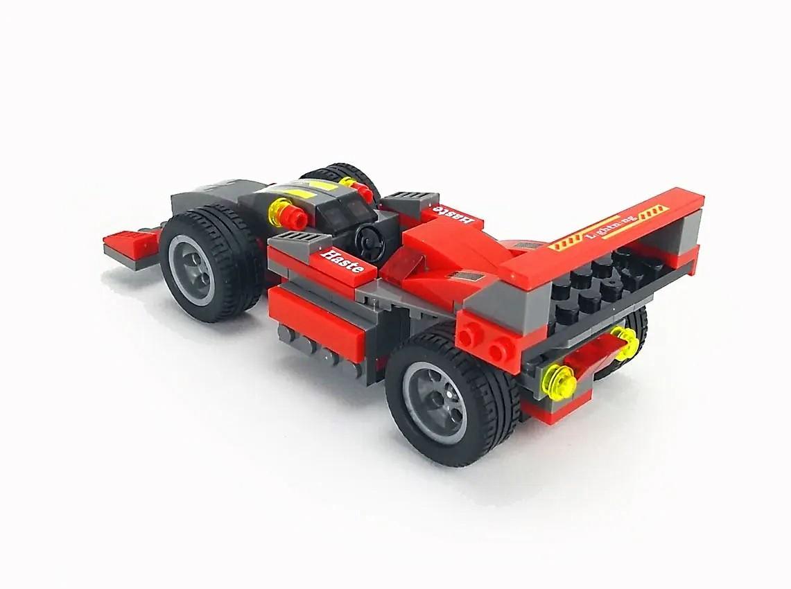 Carro de Fórmula 1 em Blocos de Montar 143 Pçs 3 Em 1 Educativo