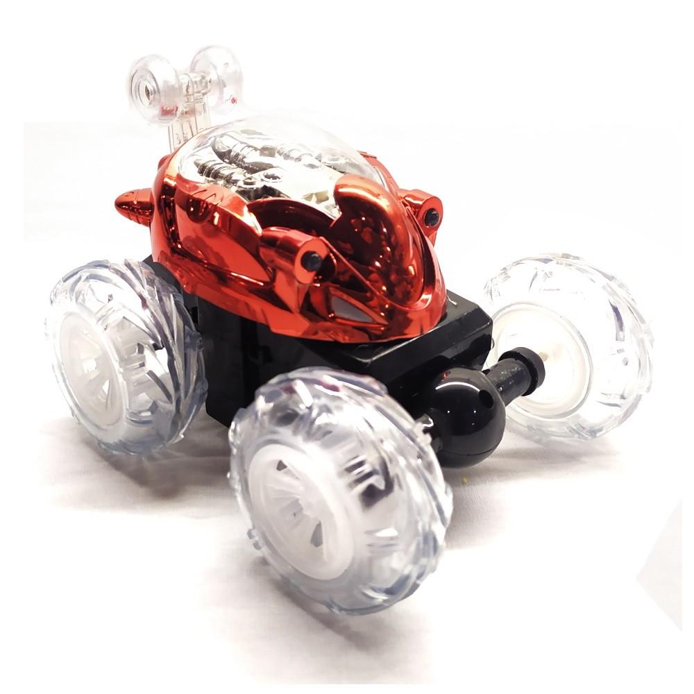 Carro Maluco Acrobacias 360 Controle Remoto Carrinho que faz com Luz e Som