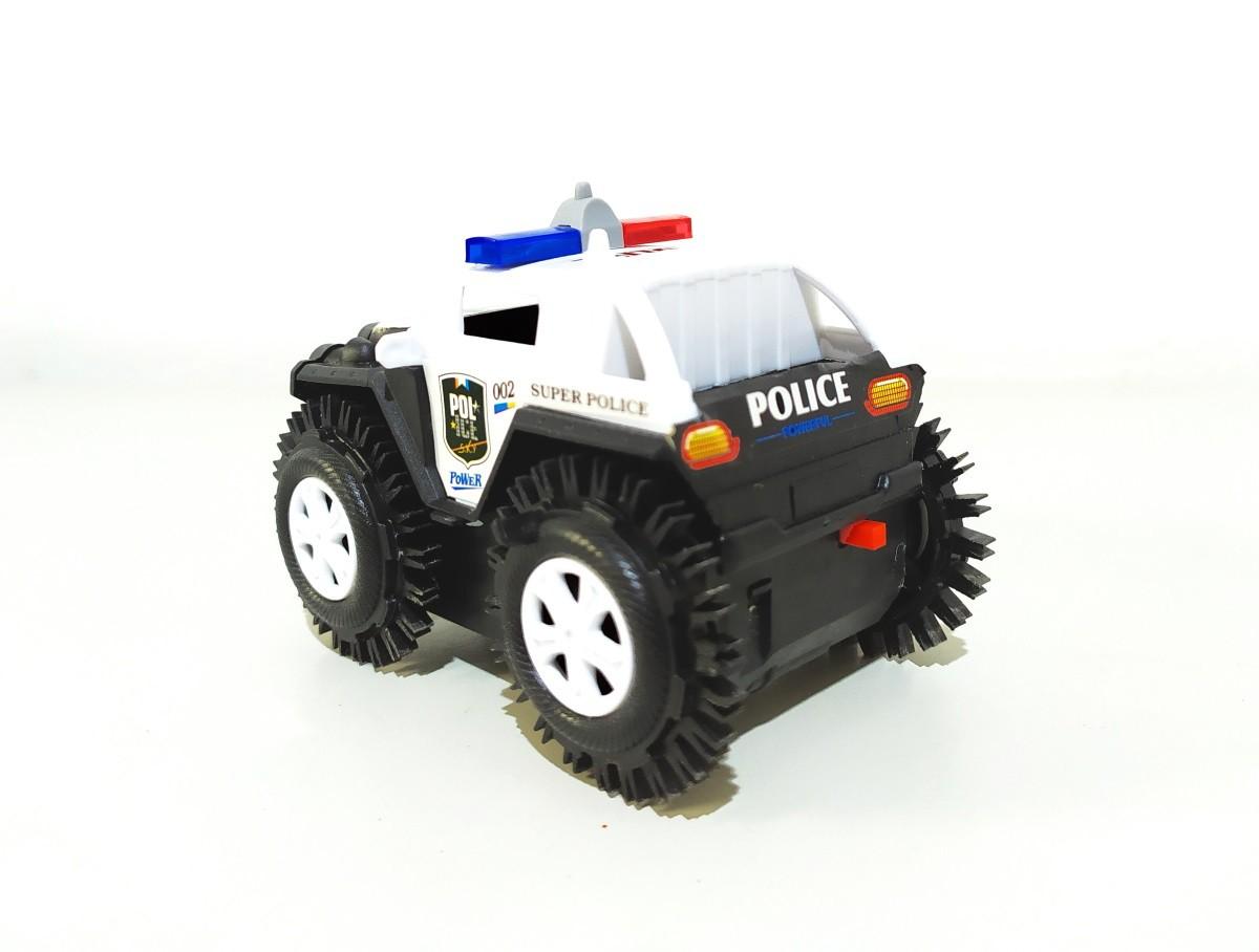 Carro Maluco Jeep Carrinho Cambalhota Bate E Volta Jipe >> Policia PRETO <<