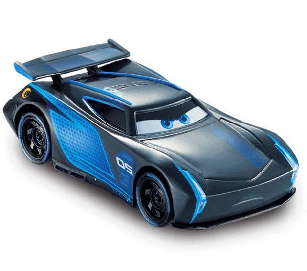 Carro Roda Livre 13cm Disney Carros 3 Relâmpago Macqueen e Jackson Storm - Kit com 2
