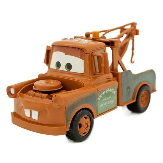 Coleção Carros 3 Disney com 6 Carrinhos de 22cm Fricção Relâmpago Mate Dinoco e Sua Turma