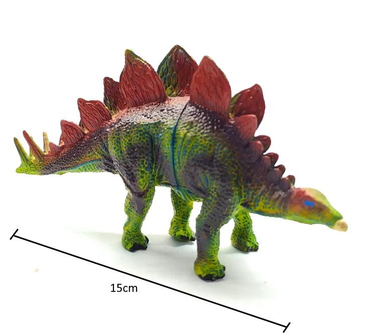 Coleção com 5 Dinossauros Jurássicos Realistas com Tiranossauro Rex Ovos e Acessórios
